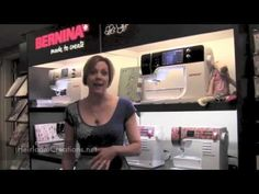 Bernina University 2013 - Introducing Bernina 880, Bernina 560, Bernette Chicago 7, Bernina L 460 - YouTube