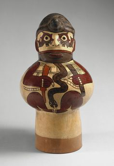 Drum (Effigy) [Peru; Nasca] (1978.412.111) | Heilbrunn Timeline of Art History | The Metropolitan Museum of Art