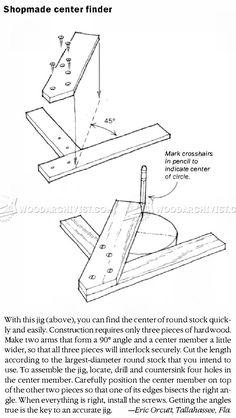 #2904 DIY Center Finder - Marking and Measuring