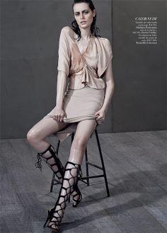 Editorial  Corpo em Evidencia – Harper's Bazaar Brasil – Janeiro 2014