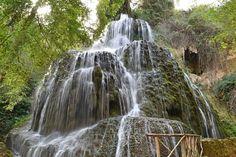The Natural Park close to monasterio-de-piedra
