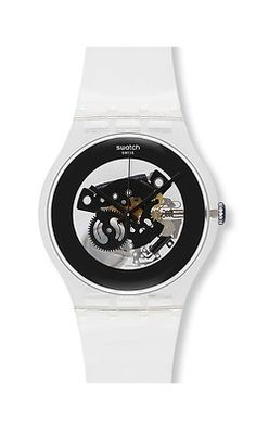 NEW Collection 2013 Unisex Black Ghost Swatch Watch SUOK107 .... Ruhák 1d79d9b1c5