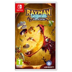 Rayman Legends: Definitive Edition Nintendo Switch Cover Art