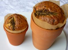 onion and herb bread in a pot