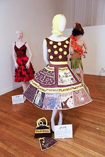 Chocolate Dresses at NYC Chocolate Show