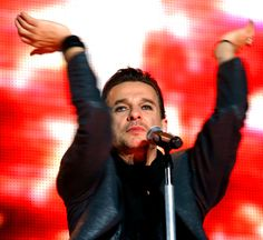 Dave Gahan of Depeche Mode during TOTU