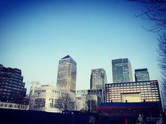 Work In Canary Wharf! #Borough #Internship #3month #Total #EP #HardWork #Sun #FinDeJournée #OnRentreALaMaison #Coloc #BBAInseec #District #Walk #Towers #10UpperBankStreet #London #UK  by flowtis14