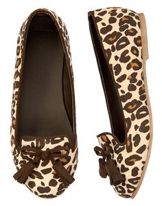 Leopard Loafer Shoe in  from Gymboree on shop.CatalogSpree.com, your personal digital mall.