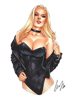 [Artwork] Black Canary by Elias ChatzoudisYou can find Black canary and more on our website.[Artwork] Black Canary by Elias Chatzoudis Dc Comics Girls, Comic Art Girls, Dc Comics Art, Marvel Girls, Marvel Comics, Comic Book Characters, Comic Books Art, Female Characters, Fantasy Art Women
