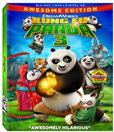 "#Giveaway Win the Blu-ray/DVD ""Kung Fu Panda 3"" (Ends 7/4) @mamasmoney #PandaInsiders #KungFuPanda3"