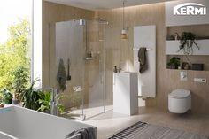 Unsere #Duschkabine Pasa Pendeltür und unser #Badheizkörper Rubeo sorgen für frischen Wind und bringen puristisches Design ins heimische Badezimmer.