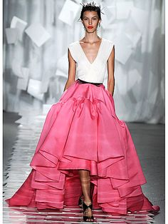 Not my colour but i would totally rock this skirt... jason wu 2012