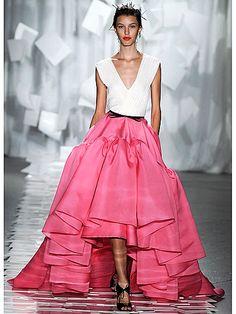 yes, yes, yes... Valentine's Day fabulousness courtesy of Jason Wu #2012 #fashionweek