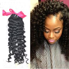 Top Quality Natural Black Human Hair Weave Kinky Curly