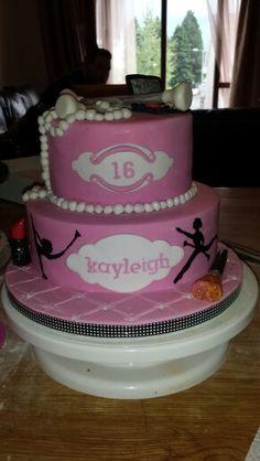 Baton twirling cake