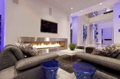 Interior Design, Creative TV Room Design: Creative Modern Minimalist TV Room Design