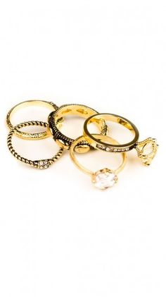 Stacking Rings by Glitterrings