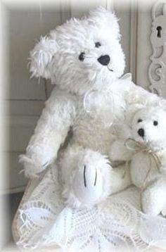 Cute little white bears