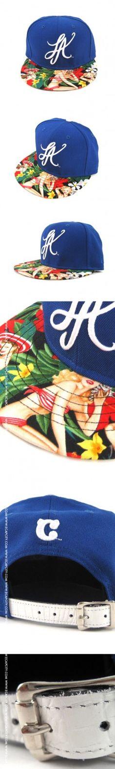 LA Script Cali Girls New Era Strapback Hats - New Era Custom - Strapbacks