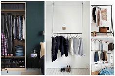 Comment aménager un dressing dans une petite surface? Studio, Madrid, Charlotte, Dressing, Closet, Home Decor, Home, Small Space, Bedroom