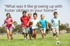 Adding Foster Children to your home: How will your kids take it? Written from POV of sibling.