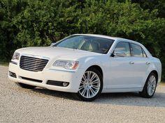 Chrysler 300C, White,