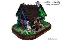 Millbeck Smithy: A LEGO® creation by Luke Watkins : MOCpages.com
