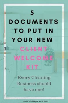 cleaning service Every Cleaning Business should be welcoming new clients with a New Client Welcome Kit. Read how you can easily build one! House Cleaning Services, House Cleaning Tips, Spring Cleaning, Professional Cleaning Services, Janitorial Cleaning Services, Deep Cleaning Tips, Cleaning Hacks, Cleaning Flyers, Cleaning Quotes