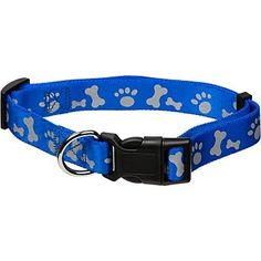 Petmate Adjustable Reflective Dog Collar 10 by 16Inch Royal Blue >>> Check out this great product.Note:It is affiliate link to Amazon.