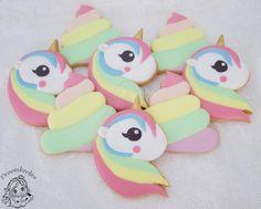 Unicorn cookies / eenhoorn koekjes / eenhoorn poop