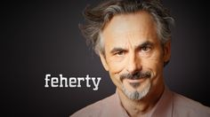 Golf Channel's David Feherty. Spectacular Interview with Ken Venturi tonight,you should check it out !!!