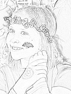 Make a Coloring Picture from a Photo