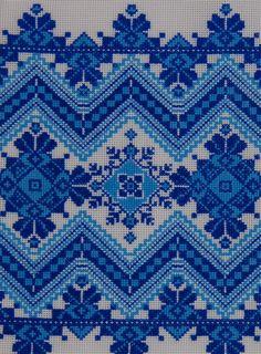 Rushnyk, Ukraine, from Iryna with love Cross Stitch Borders, Cross Stitch Charts, Cross Stitch Designs, Cross Stitching, Cross Stitch Patterns, Folk Embroidery, Cross Stitch Embroidery, Embroidery Patterns, Machine Embroidery