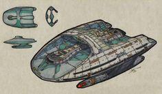 Federation Assiduous-Class USS Spyros Spyrou, by Atolm Star Trek 4, Star Trek Gifts, Star Trek Ships, Science Fiction, Trek Deck, Starfleet Ships, Rear Admiral, Star Trek Starships, Spaceship Design