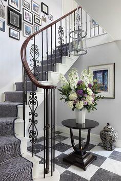 HappyModern.RU | Кованые перила для лестниц (45 фото): мелодия, застывшая в…