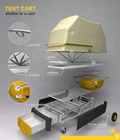 tent cart