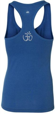 Yoga Clothing For You Ladies Bamboo HINDU Tank Small Royal midback print * For more information, visit image link.