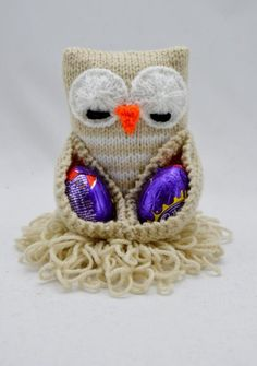 knitting pattern chocolate egg owl | Add a Touch of Spring to Your Home With 7 Easter Knitting Patterns