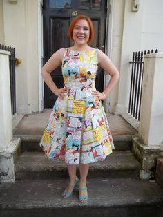 Dolly Clackett: Home Sewing Is Easy dress.