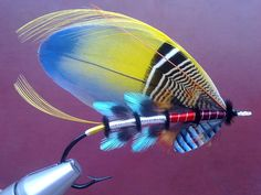 Shawn Mitchell - Tartan Bodied and Classic Salmon Flies | Vintage ...