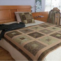 Pie de cama y varios on pinterest bed runner runners for Pie de cama xxl