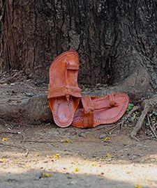 b019810910b Chappal - Kolhapuri Chappal Pure Leather Sandals Ethnic Footwear online