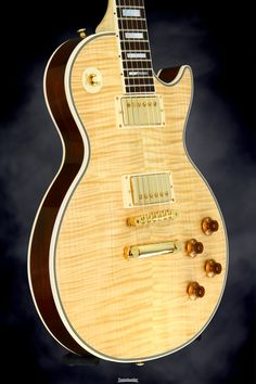 Gibson Custom Sweetwater Les Paul Modern Custom - Natural, Flamed Maple Neck | Sweetwater.com
