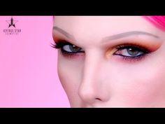 SUNSET CAT EYE GLAM Makeup Tutorial - YouTube