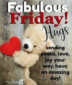 Thanks for visiting 🧡 Have a blessed Friday Happy Friday Morning, Friday Morning Quotes, Happy Day Quotes, Cute Good Morning Quotes, Hug Quotes, Good Morning Texts, Morning Greetings Quotes, Its Friday Quotes, Good Morning Good Night