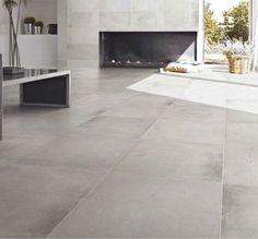 [ Younhyun Tile / 윤현상재 타일 ] Exposed Concrete Style Tile : Varese Cenere / Size (cm) : 600X600