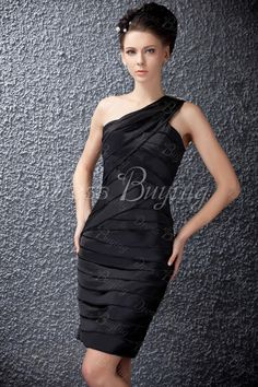 Brilliant Column One-shoulder  Waistline Polina's Cocktail/Evening Dress                 US$ 146.19