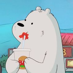 we bear bears Ice Bear We Bare Bears, We Bear, Wallpapers Tumblr, Cute Cartoon Wallpapers, Cartoon Icons, Bear Cartoon, Cartoon Network, We Bare Bears Wallpapers, Bear Wallpaper