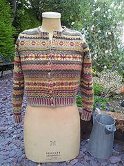 Ravelry: Orkney pattern by Marie Wallin Fair Isle Knitting Patterns, Fair Isle Pattern, Knit Patterns, Rowan Knitting, Knitting Yarn, Punto Fair Isle, Pull Jacquard, Fair Isles, Crochet Magazine