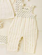 Olisikohan tämä helppo neuloa?  Smokkipoimutettu haalari vauvalle – Anna&Ellit